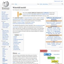 compare waterfall model and prototyping model Waterfall model is used for what is spiral model 4 side by side comparison the spiral model was introduced as an alternative to waterfall and prototype model.