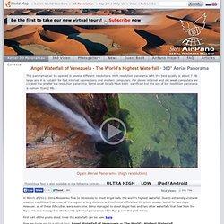 Angel Waterfall of Venezuela - The World's Highest Waterfall