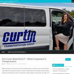 Kim Curtin Waterford CT – What's Important in Transportation