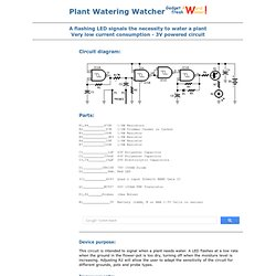Plant Watering Watcher - Version II - RED - Page18