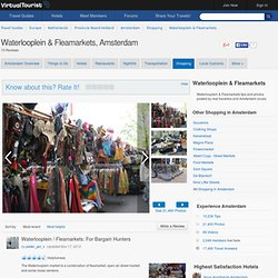 Amsterdam Waterlooplein & Fleamarkets and other Shopping Reviews