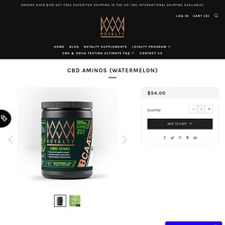 CBD Protein Powder USA – Royalty Extracts
