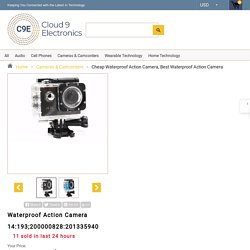 Cheap Waterproof Action Camera