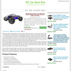 Redcat Racing Volcano-18 1/18th Scale Electric Monster Truck with Waterproof Electronics, Blue
