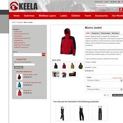 Keela flagship waterproof mountaieering jacket