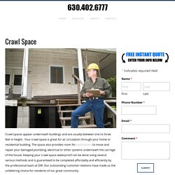 Crawl Space, Waterproofing Near Me, Dupage County, IL