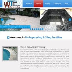 Pool and Outdoor area waterproofing and tiling Mackay
