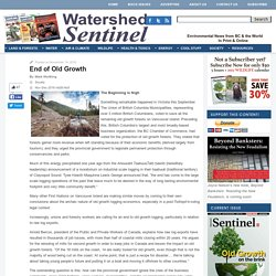 Watershed Sentinel - Environmental News