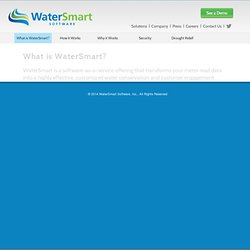 WaterSmart - Solutions for Utilities