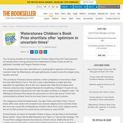Waterstones Children's Book Prize shortlists offer 'optimism in uncertain times'