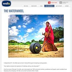 the WaterWheel — Wello Water