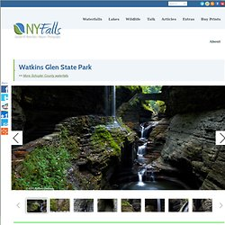 Watkins Glen State Park on Seneca Lake - Camping, Pictures, Maps, Information