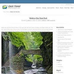 Watkins Glen State Park | Travel Blog Direction & Places to Visit
