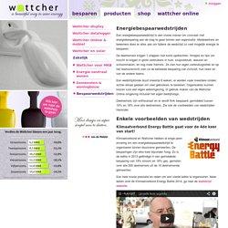 Met de Wattcher bespaar je tussen de 15% en 40% energie - Wattcher