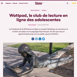 Wattpad, le club de lecture en ligne des adolescentes