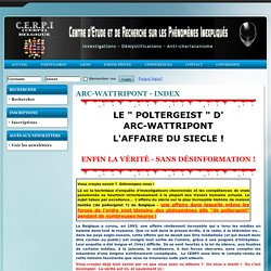 Arc-Wattripont - index