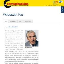 Watzlawick Paul