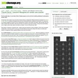 Travail forcé : Laurent Wauquiez en remet une couche