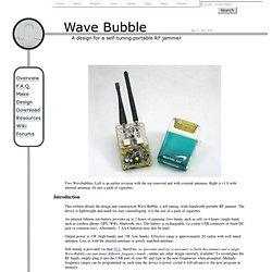 Wave Bubble