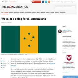 Wave! It's a flag for all Australians