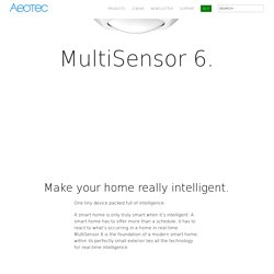 Z-Wave motion sensor and MultiSensor