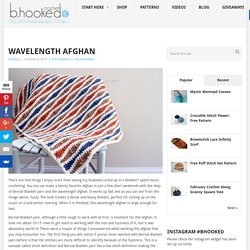 Wavelength Afghan - B.hooked Crochet