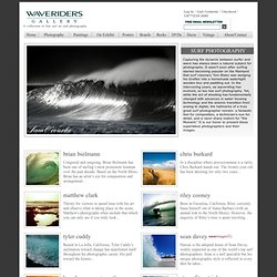 Waveriders Gallery: Surf Photographs