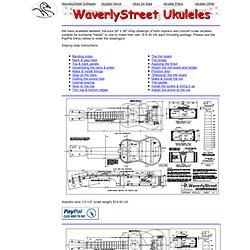 WaverlyStreet Design Ukulele Site