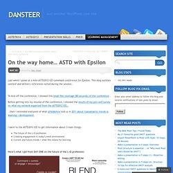 ASTD 2012 - Dan Steer
