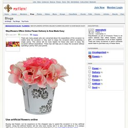 Way2flowers Offers Online Flower Delivery Is Now Made Easy