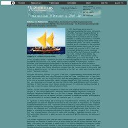 Wayfinders : Polynesian History and Origin