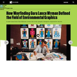 How Wayfinding Guru Lance Wyman Defined the Field of Environmental Graphics