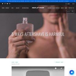Harmful Ingredients In Aftershave