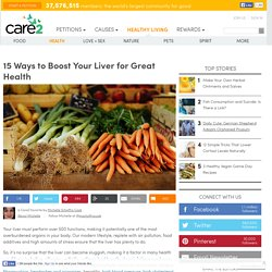 15 Ways To Boost Your Liver For Great Health