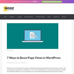 7 Ways to Boost Page Views in WordPress