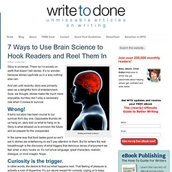 7 Ways to Use Brain Science to Hook Readers