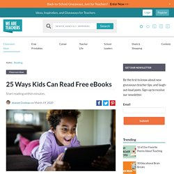 25 Ways to Download Free eBooks For Readers of All Ages