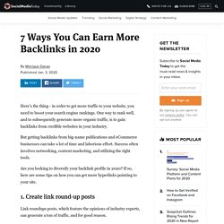 7 Ways You Can Earn More Backlinks in 2020