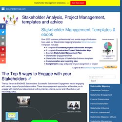 The Top 5 ways to Engage with your Stakeholders