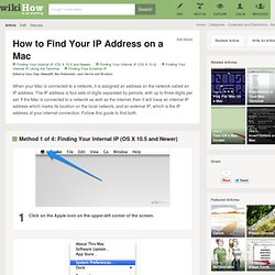 How to Find Your IP Address on a Mac
