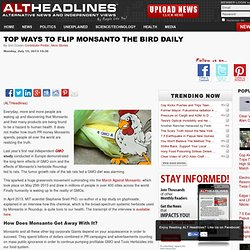 Top Ways to Flip Monsanto the Bird Daily