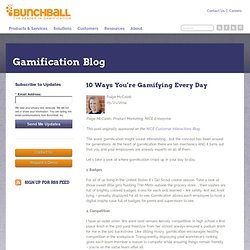 10 Ways You're Gamifying Every Day