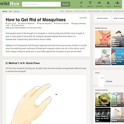 25 Tips on How to Get Rid of Mosquitoes