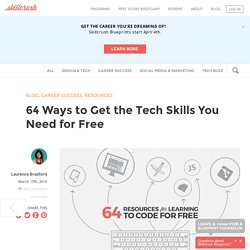 64 Ways to Get the Tech Skills You Need for Free