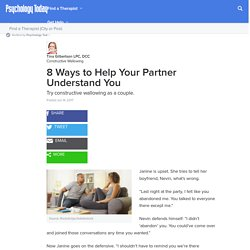 8 Ways to Help Your Partner Understand You