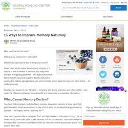 13 Ways to Improve Memory Naturally