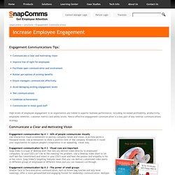 Engagement Communication Tips