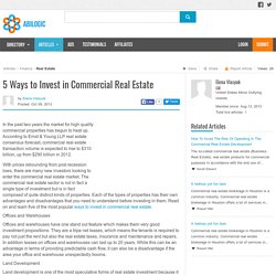 5 Ways to Invest in Commercial Real Estate