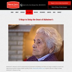 5 Ways to Keep Alzheimer's Disease at Bay