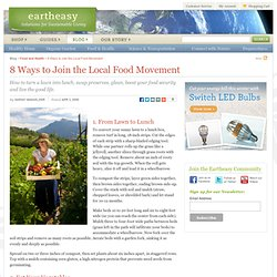 8 Ways to Join the Local Food Movement